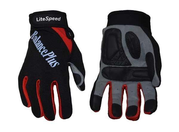 LiteSpeed Unlined Gloves in red