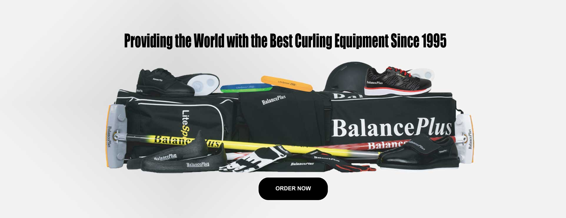 BalancePlus Curling Equipment photo of entire collection
